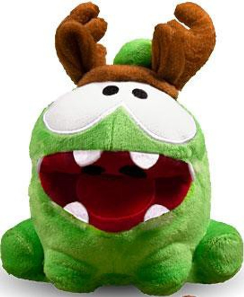 Cut the Rope Pose-N-Play Om Nom 5-Inch Plush [Antlers]