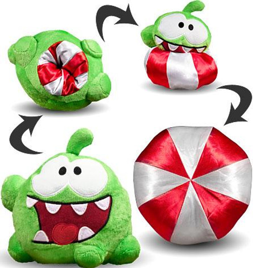 Cut the Rope Reversible Om Nom 6-Inch Plush [Peppermint Candy]