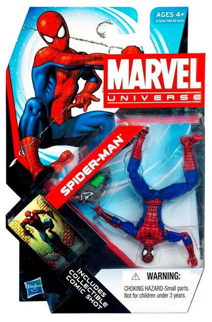 Marvel Universe Series 18 Spider-Man Action Figure #7 [Peter Parker]