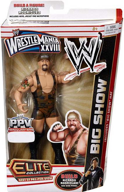 WWE Wrestling Elite Best of Pay Per View Big Show Exclusive Action Figure [Big Show Hat]