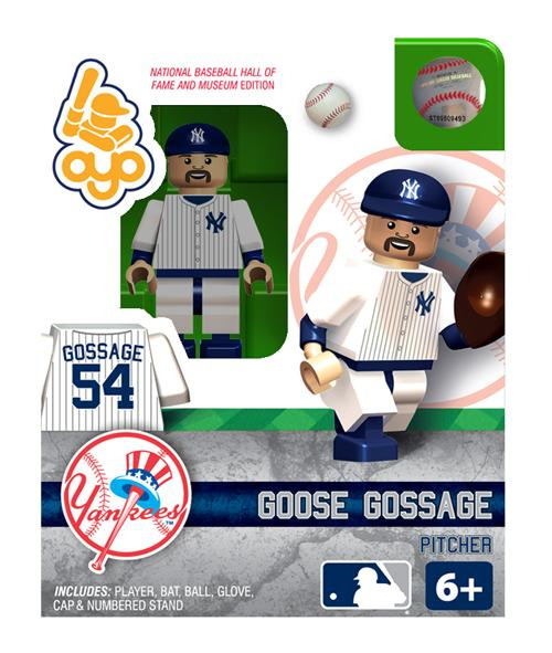 New York Yankees MLB Hall of Fame Rich Goose Gossage Minifigure