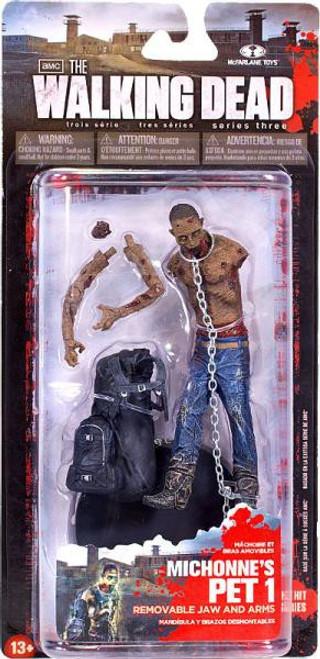 McFarlane Toys Walking Dead AMC TV Series 3 Michonne's Pet Zombie 1 Action Figure