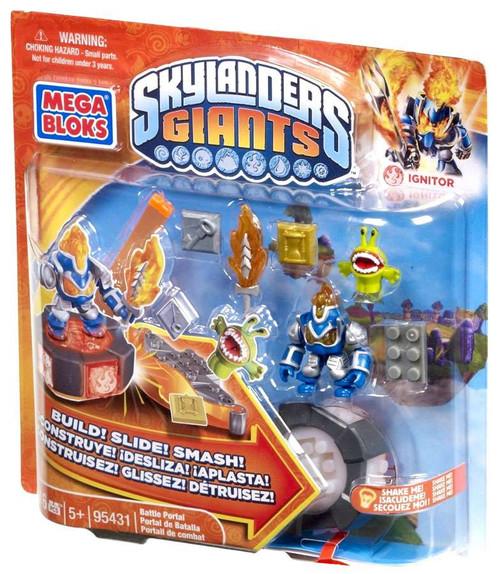 Mega Bloks Skylanders Giants Battle Portals Series 1 Ignitor Battle Portal Set #95431
