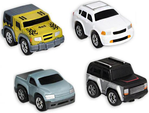 Nano Speed Nano Off-Road Micro Car 4-Pack [Random Cars]