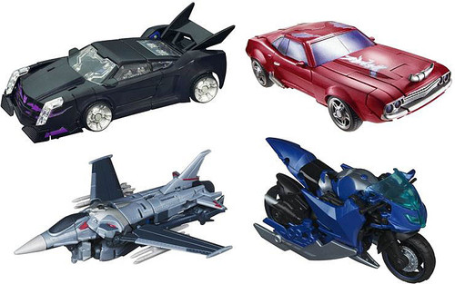 Transformers Prime First Edition Deluxe Set of 4 Deluxe Action Figures