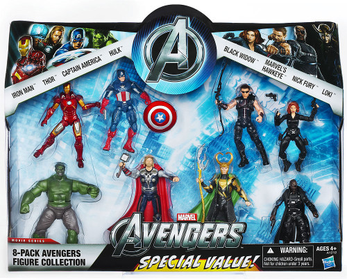 Marvel Exclusives Avengers Exclusive Action Figure 8-Pack