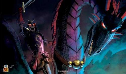 Card Supplies The Dragon Rider Play Mat