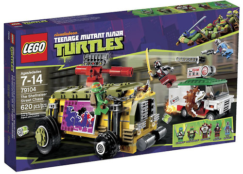 LEGO Teenage Mutant Ninja Turtles Shellraiser Street Chase Set #79104