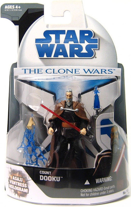 Star Wars The Clone Wars Clone Wars 2008 Count Dooku Action Figure #13