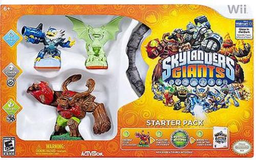 Skylanders Wii Giants Starter Pack [With Glow-in-the-Dark Cyner]