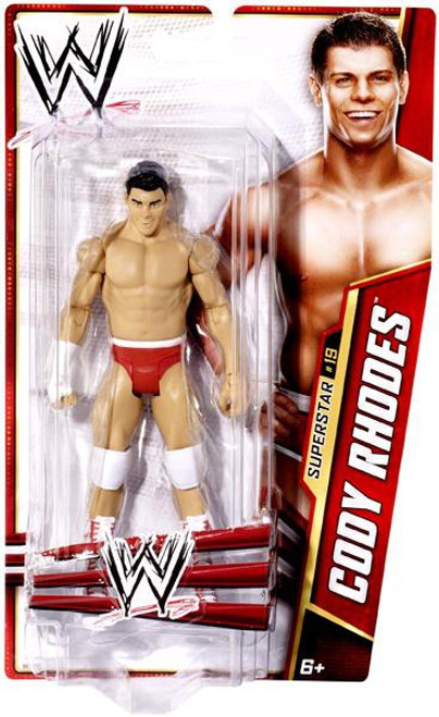 WWE Wrestling Series 27 Cody Rhodes Action Figure #19