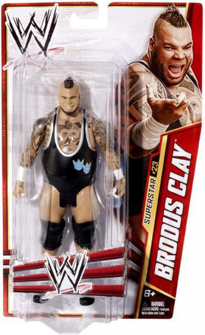 WWE Wrestling Series 27 Brodus Clay Action Figure #23