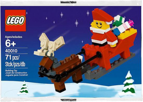 LEGO Santa with Sleigh Mini Set #40010 [Bagged]
