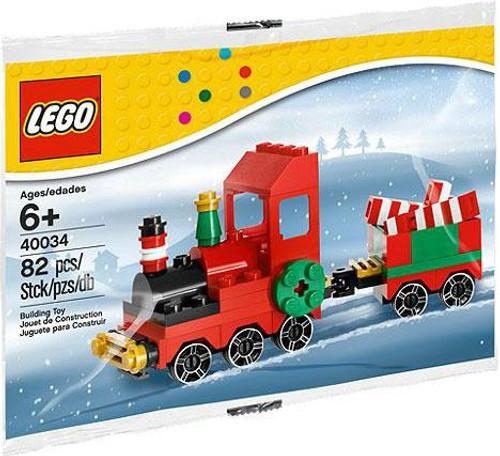 LEGO Christmas Train Mini Set #40034 [Bagged]