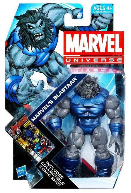 Marvel Universe Series 20 Blastaar Action Figure #24 [Solid Arms]