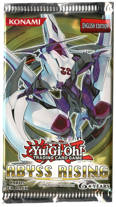 YuGiOh Abyss Rising Booster Pack [Sealed]