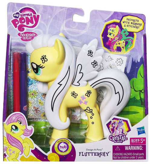 My Little Pony Friendship is Magic Crystal Empire Fashion Style Fluttershy Figure