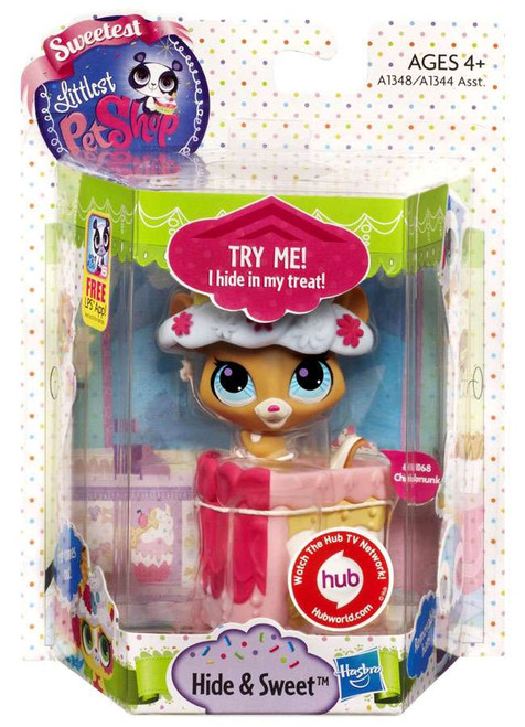 Littlest Pet Shop Sweetest Hide & Sweet Chipmunk Figure