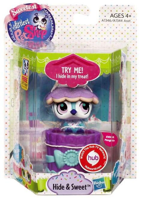 Littlest Pet Shop Sweetest Hide & Sweet Penguin Figure