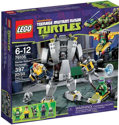 LEGO Teenage Mutant Ninja Turtles Baxter Robot Rampage Exclusive Set #79105