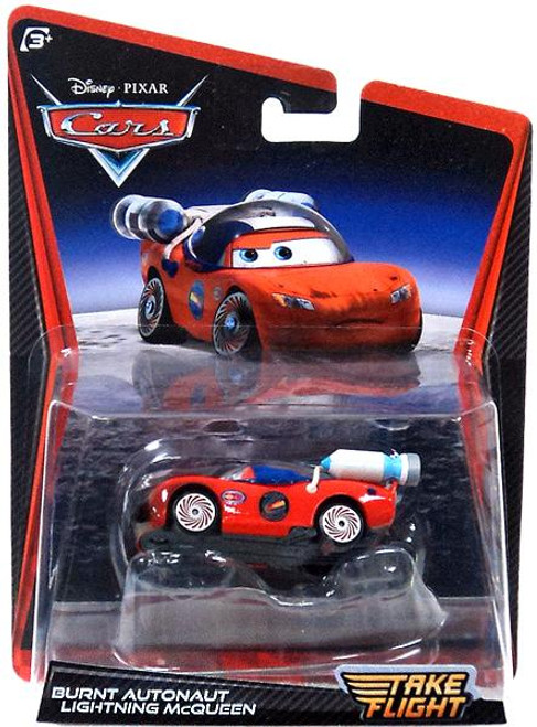 Disney Cars Take Flight Burnt Autonaut Lightning McQueen Diecast Car