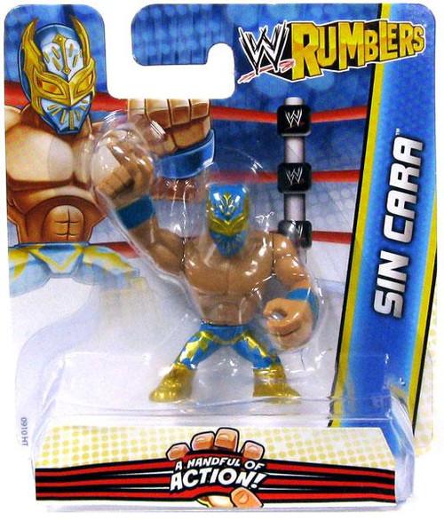 WWE Wrestling Rumblers Series 2 Sin Cara Mini Figure [Blue & Gold]