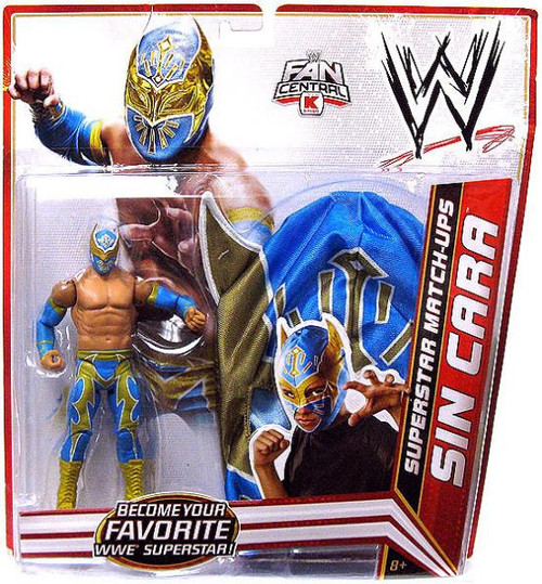 WWE Wrestling Superstar Match-Ups Sin Cara Exclusive Action Figure