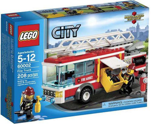 LEGO City Fire Truck Set #60002