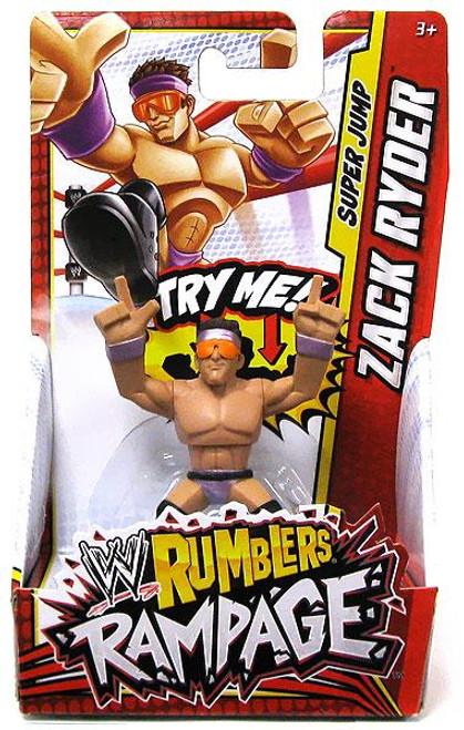 WWE Wrestling Rumblers Rampage Zach Ryder Mini Figure