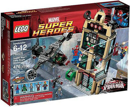 LEGO Marvel Super Heroes Ultimate Spider-Man Daily Bugle Showdown Set #76005