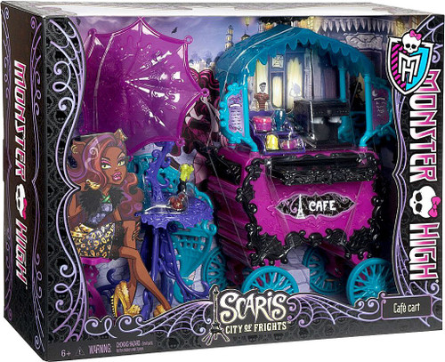 Monster High Scaris City of Frights Cafe Cart 10.5-Inch