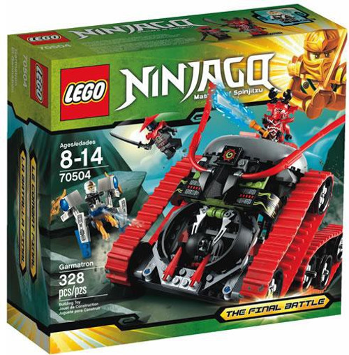 LEGO Ninjago The Final Battle Garmatron Set #70504