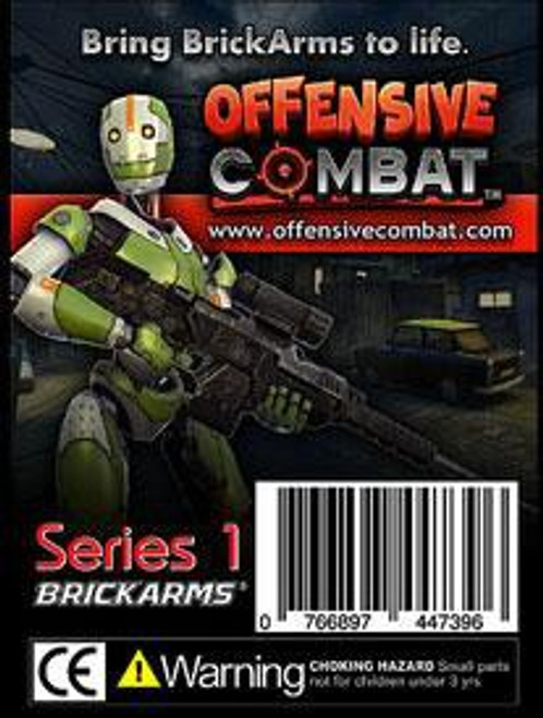 BrickArms Series 1 Offensive Combat 2.5-Inch Weapons Pack [Black]