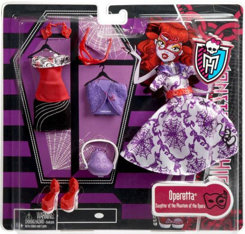 Monster High Operetta Fashion Pack [Deluxe]