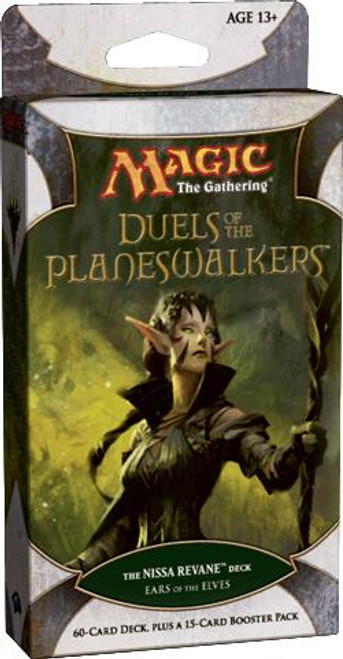 MtG Duels of the Planeswalkers Nissa Revane Ears of the Elves Intro Pack [Sealed]
