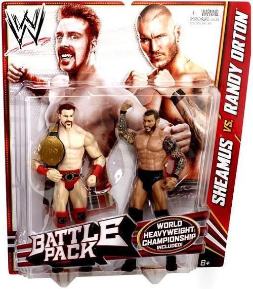 WWE Wrestling Series 21 Sheamus vs. Randy Orton Action Figure 2-Pack [World Heavyweight Chamoionship]