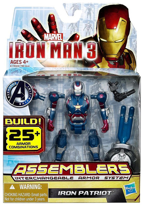 Iron Man 3 Assemblers Iron Patriot Action Figure A1783