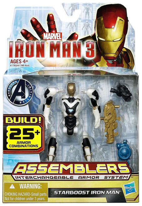 Iron Man 3 Assemblers Starboost Iron Man Action Figure A1782