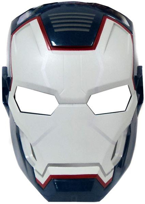 Iron Man 3 Iron Patriot Arc FX Glow-in-the-Dark Mask Roleplay Toy