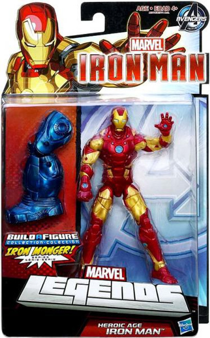 Marvel Avengers Heroic Age Iron Man Action Figure [Bleeding Edge Armor]