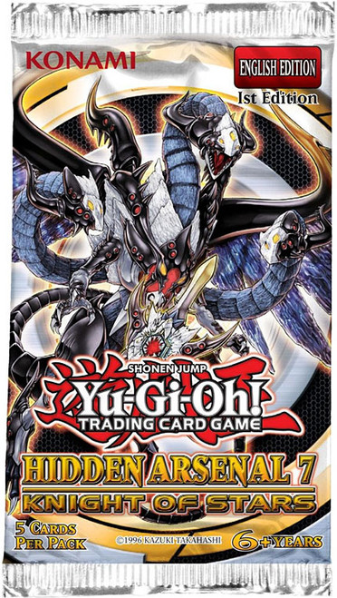 YuGiOh Hidden Arsenal 7: Knight of Stars Booster Pack [Sealed]