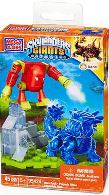 Mega Bloks Skylanders Giants Hero Packs Translucent Bash Hero Pack Set #95424