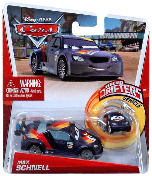 Disney Cars Micro Drifters Max Schnell Diecast Car [With Micro Drifter]