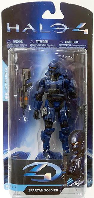 McFarlane Toys Halo 4 Series 1 Spartan Soldier Exclusive Action Figure [Blue]