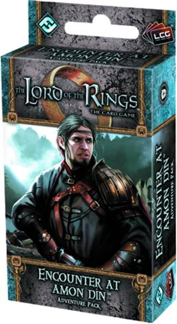 The Lord of the Rings The Card Game Lord of the Rings LCG Encounter At Amon Din Adventure Pack