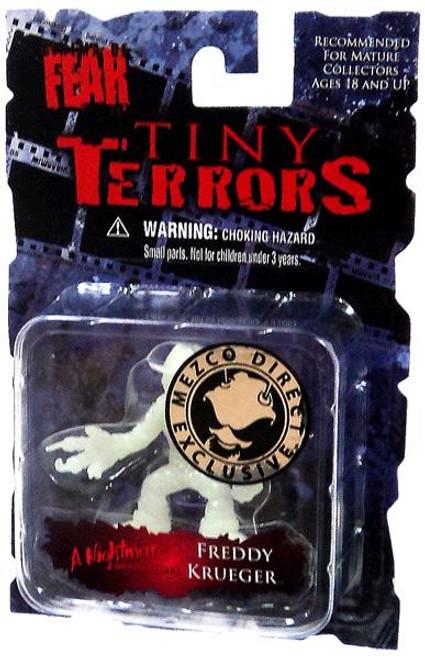 A Nightmare on Elm Street Cinema of Fear Tiny Terrors Series 1 Freddy Krueger Exclusive Mini Figure [Glow-in-the-Dark]