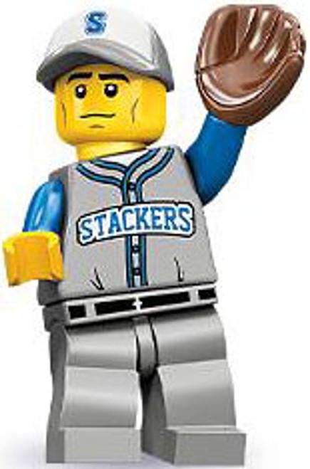 LEGO Minifigures Series 10 Baseball Fielder Minifigure [Loose]
