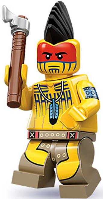 LEGO Minifigures Series 10 Tomahawk Warrior Minifigure [Loose]