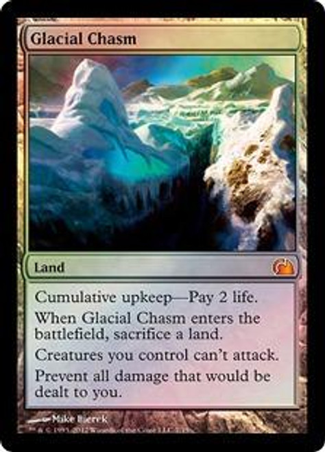 MtG From the Vault: Realms Mythic Rare Glacial Chasm #7
