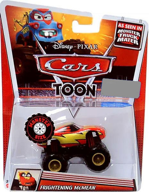 Disney Cars Cars Toon Deluxe Oversized Frightening McMean Exclusive Diecast Car